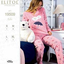 Пижама женская софт Elitol (Турция) 19509pink