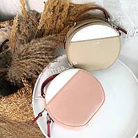 Сумка кросс-боди David Jones женская весення сумочка розовая