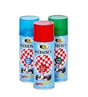 Аэрозольная краска Bosny лаки и для мототехники