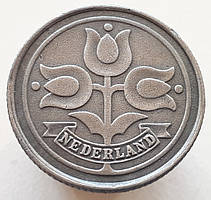 Нидерланды 10 центов 1942