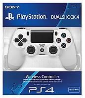 Джойстик беспроводной Sony DualShock 4 Wireless Controller Glacier White для Sony PS4 (белый) Original (PS4)