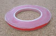Скотч двухсторонний силиконовый прозрачный 5мм*0.1 мм*50м