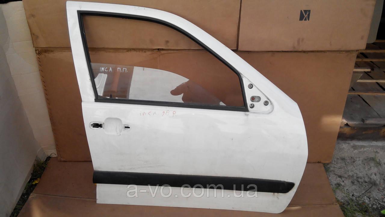 Дверь передняя правая для Volkswagen VW Caddy 2 , 1999-2004