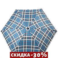 Складной зонт H.DUE.O Зонт компактный облегченный механический  Синий