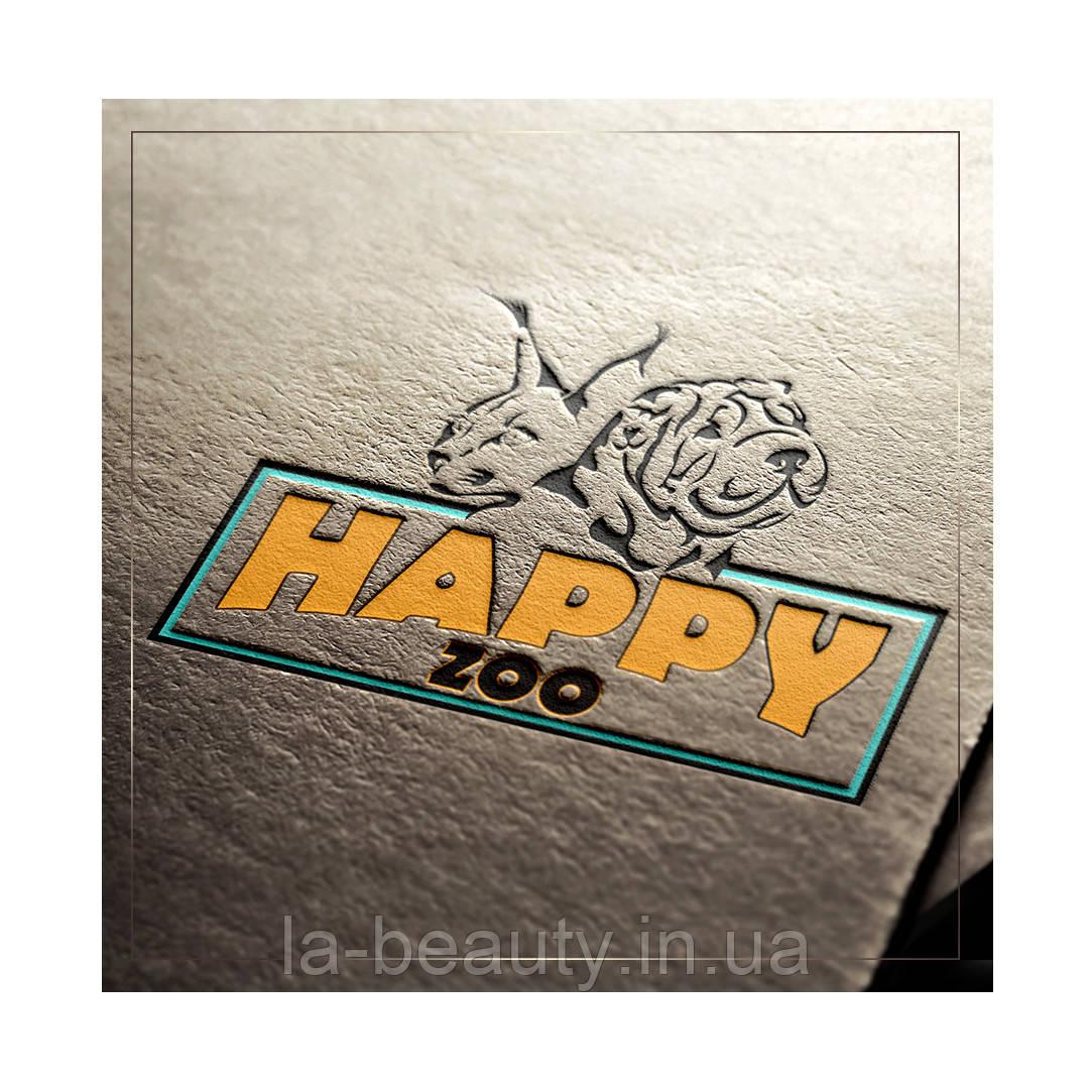 Дизайн логотипа интернет магазина товаров для животных HAPPY ZOO
