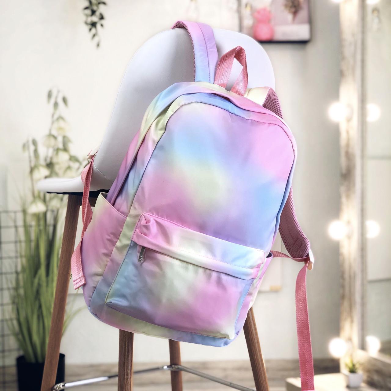 Шкільний рюкзак градієнт