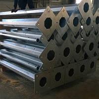 Парковые столбы освещения 3 м стальные оцинкованные, фото 1