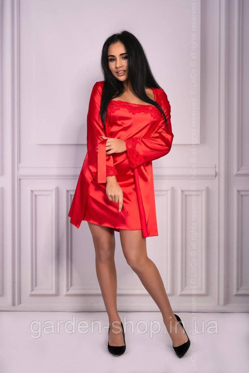 Комплект халат/пеньюар Jacqueline Livia Corsetti розмір S/M