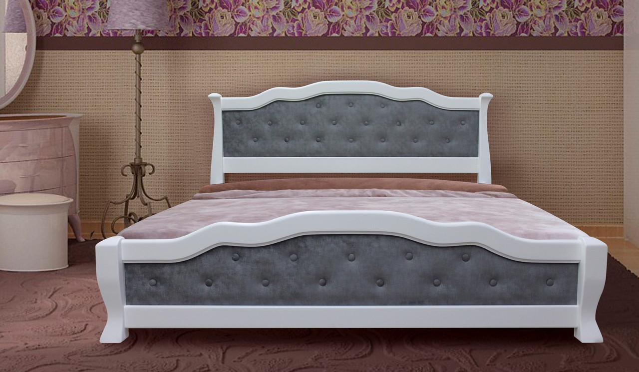 Мягкая кровать К-28 MegaMebli