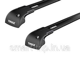 Багажник для авто c интегрированными рейлингами Thule WingBar Edge Черный 959XB-KIT-4