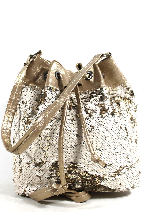 Женский рюкзак-сумка из кожзама 042