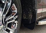 Брызговики пластик, под оригинал volkswagen touareg II (фольксваген туарег 2) 2010г+, фото 6
