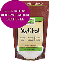 Now Foods, Real Food, Ксилитол, 1 фунт 454 г