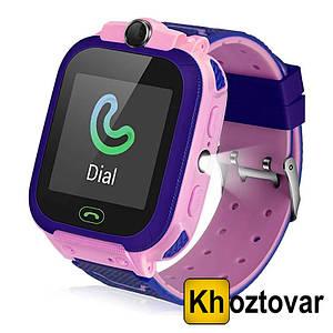 Детские наручные часы с GPS E01