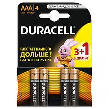 Батарейка Duracell Duralock Basic AAA/LR03 BL 4шт