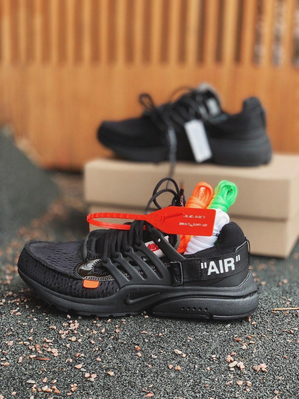 Кроссовки Nike Presto OFF White Black
