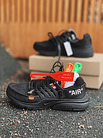 Кроссовки Nike Presto OFF White Black, фото 1
