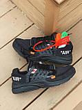 Кросівки Nike Presto OFF White Black, фото 7