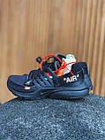 Кросівки Nike Presto OFF White Black, фото 9