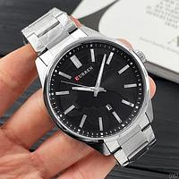 Стильний оригінальний наручний чоловічий годинник Curren, водонепроникний! Є різні кольори, відеоогляд!