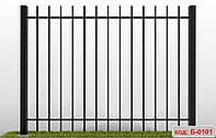 Секции металлические, сварные секции забора, ограждения. код: Б-0101 - Б-0110