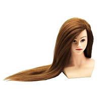 Голова натуральные волосы с плечами GSP-2 (темный)