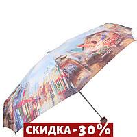 Складной зонт Lamberti Зонт женский облегченный компактный Голубой