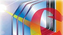 Стеклопакет двухкамерный энергосберегающий