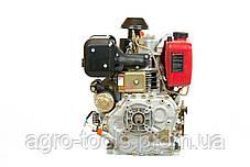 Двигатель дизельный Weima WM188FBE (вал под шлицы) 12 л.с. эл.старт, съемный цилиндр, фото 3