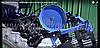 """Комплект шкивов дополнительный для мототрактора """"Премиум"""" (без гидравлики, мех. отключение копалки + ремень, фото 2"""