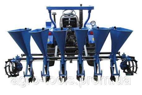 """Чесночная сажалка для трактора """"Премиум"""" 6-ти рядная (ложки увеличенные Ø34), фото 2"""