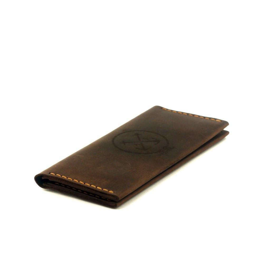 Кожаный кошелек портмоне - Anchorstuff - Breast Wallet Brown (гаманець  шкіряний) 833df8446e358