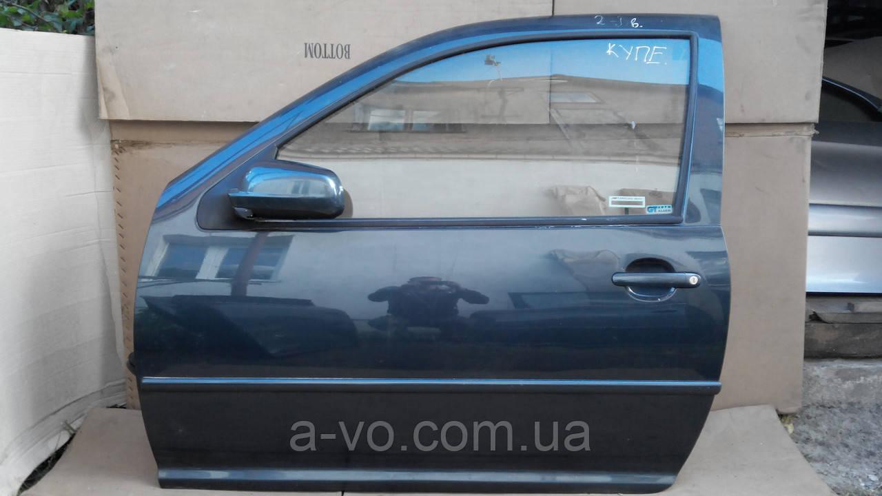 Двері передня ліва для Volkswagen VW Golf 4 Купе , 1997-2006