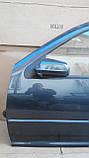 Двері передня ліва для Volkswagen VW Golf 4 Купе , 1997-2006, фото 2