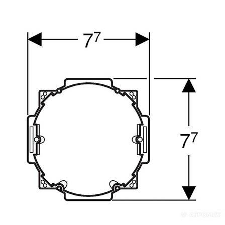 Сантех. фурнитура Geberit 115.861.00.1 HyTronic монтажная группа для блока, фото 2