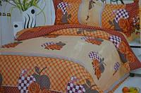 Двуспальное постельное белье East Comfort с розочками