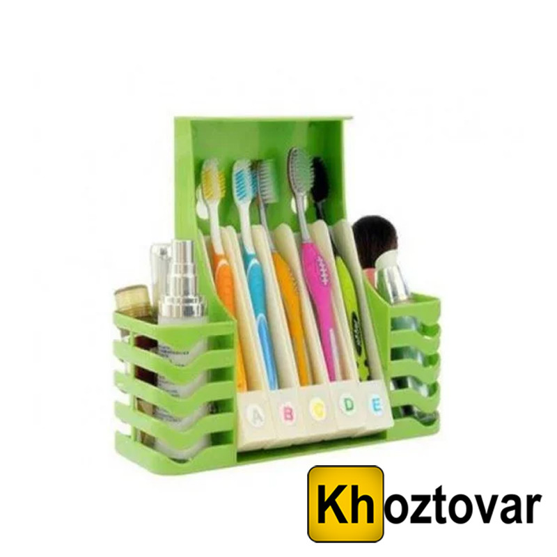 Органайзер для ванної кімнати Multifunctional Health Toothbrush