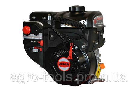 Двигатель бензиновый WEIMA W210FS Q3 для снегоуборщиков (вал 19 мм, шпонка), фото 2