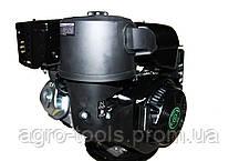 Двигатель бензиновый GrunWelt GW460FE-S (CL) (центробежное сцепление, шпонка 25 мм, эл/старт), фото 2