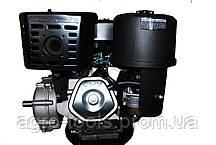 Двигатель бензиновый GrunWelt GW460FE-S (CL) (центробежное сцепление, шпонка 25 мм, эл/старт), фото 3