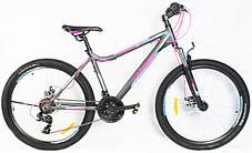 """Подростковый горный велосипед Crosser Trinity 24 размер рамы 15"""" дюймов WHITE, фото 3"""
