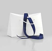 Пакет-сумка бумажный 28x15x9,5 см