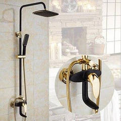 Змішувачі, душові набори та комплектуючі