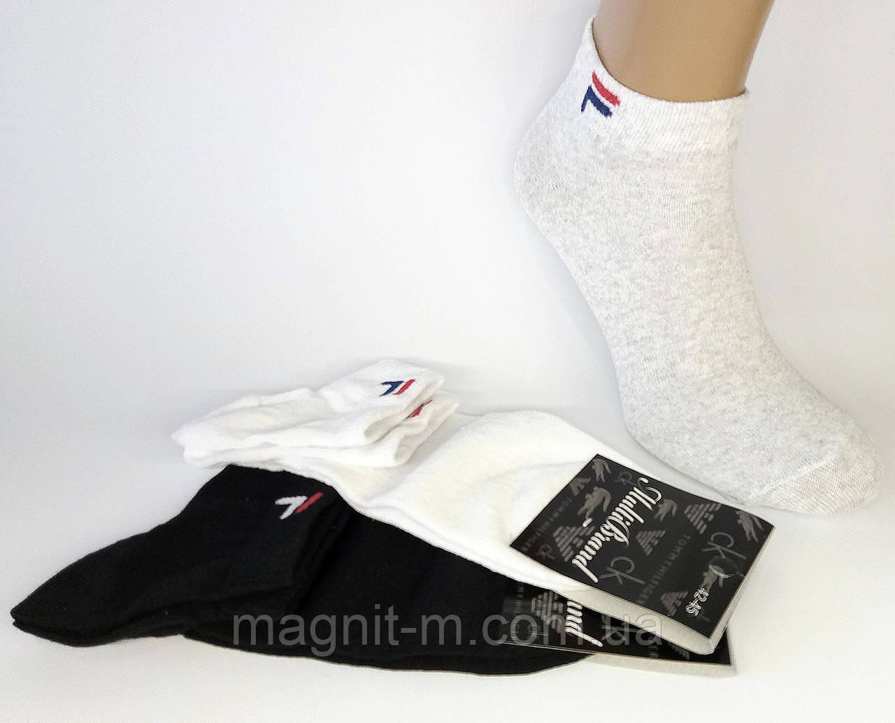 Носки мужские укороченные спортивные. Р-р 42-45. (Розница).