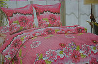 Постельное белье двуспальное East Comfort розового цвета