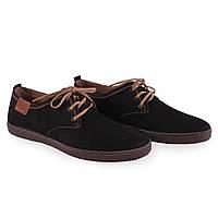 Замшевые мужкие туфли