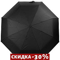 Складной зонт Magic Rain Зонт мужской полуавтомат Черный