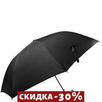 Зонт-трость Три Слона Зонт-трость мужской полуавтомат Черный