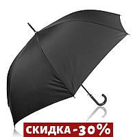 Зонт-трость Trust Зонт-трость мужской полуавтомат с большим куполом Черный