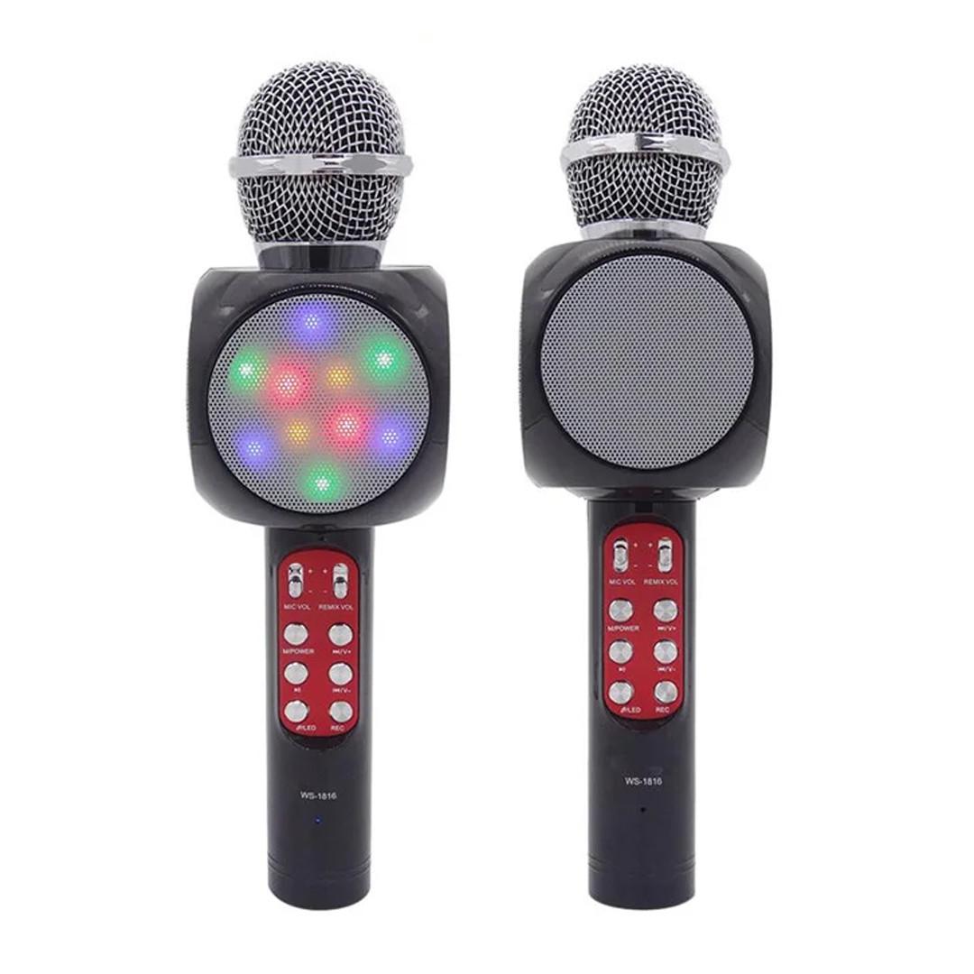 Мікрофон Bluetooth WS 1816 2 в 1 (бездротовий багатофункціональний мікрофон)